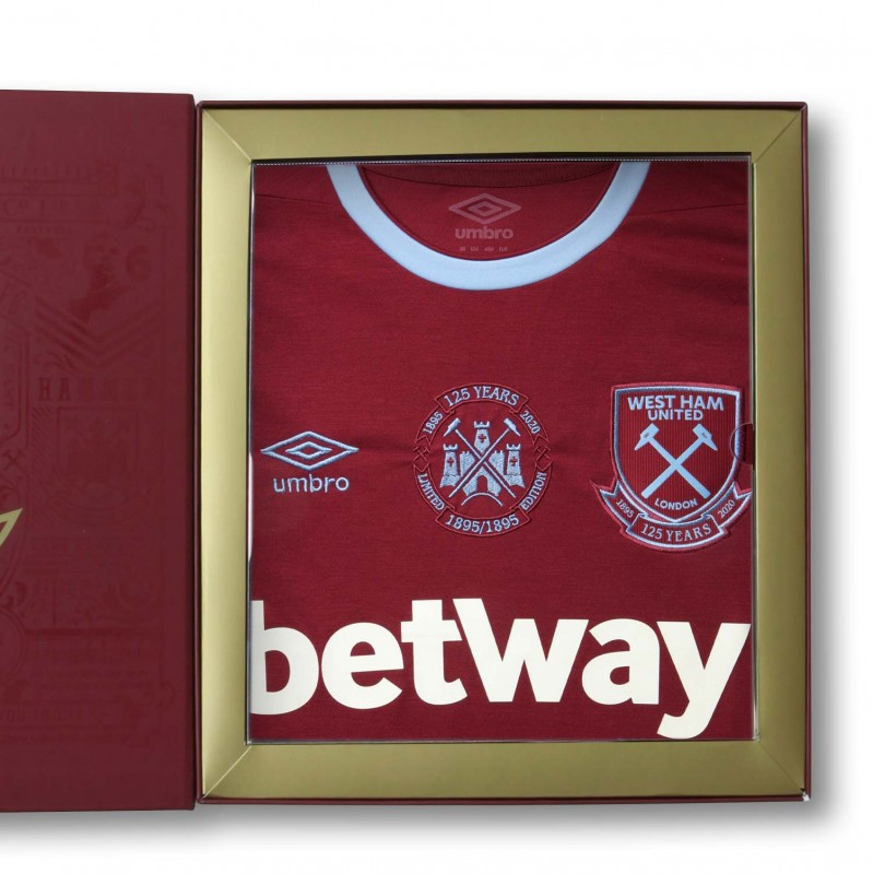 WEST HAM 125 - LIMITED EDITION BOXED HOME SHIRT