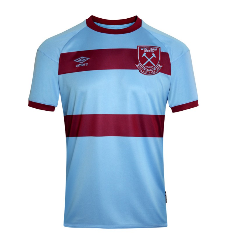 WEST HAM 20/21 UNSPONSORED ADULT AWAY SHIRT