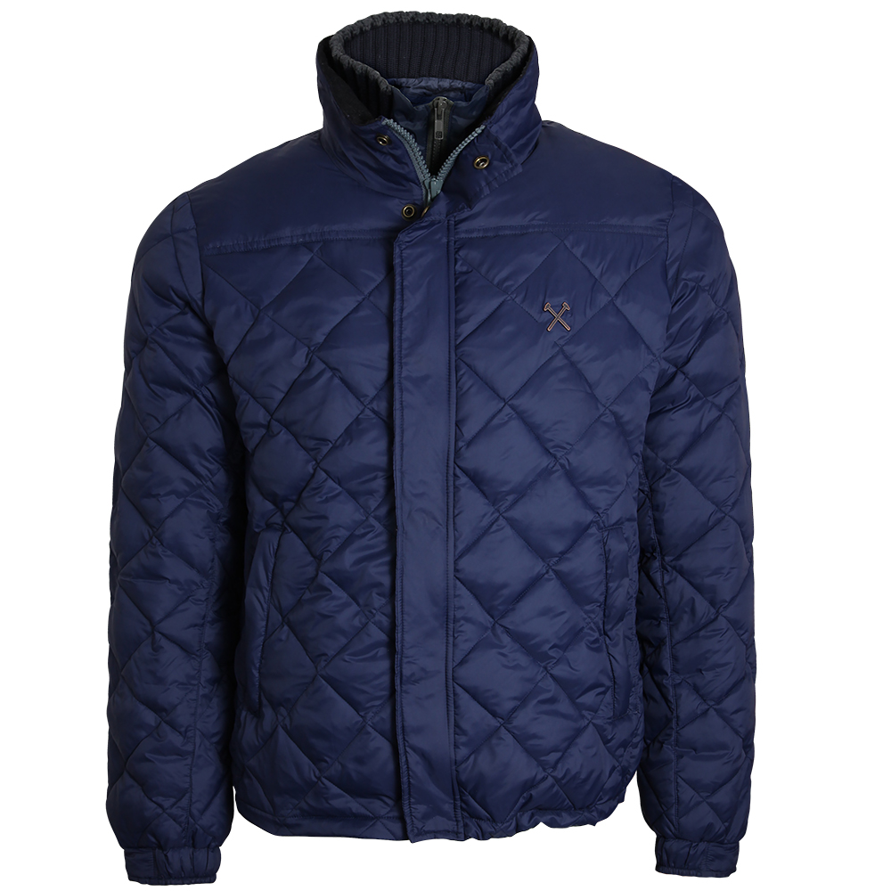 CLARET COLLECTION - QUILTED JACKET
